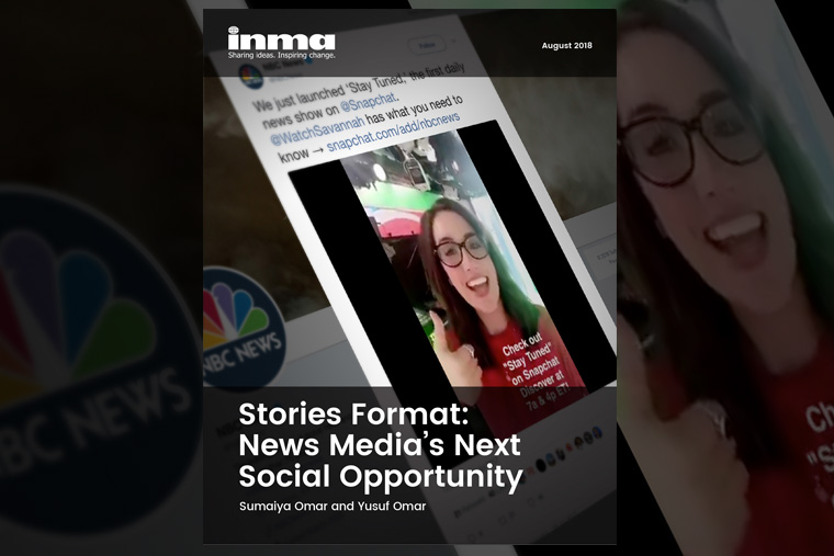 INMA's latest report on the Stories platform is available free for INMA members.