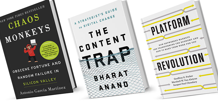 A number of books offer clues about what the future of media might hold.