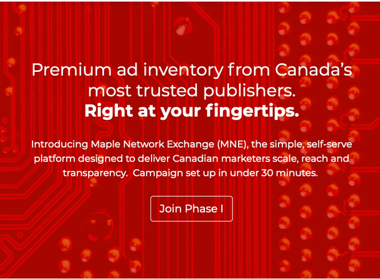 The Maple Network Exchanged was created as an alternative to Google and Facebook (image courtesy of Maple Network Exchange).