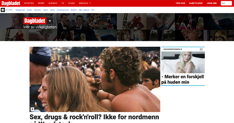 Dagbladet Pluss reaches almost 90,000 pure digital subscribers.