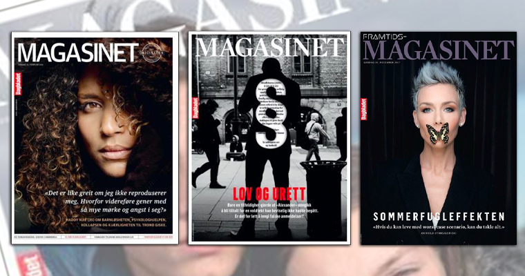 Magasinet, a featured Saturday supplement, reaches about one-quarter of Norway's adult population.