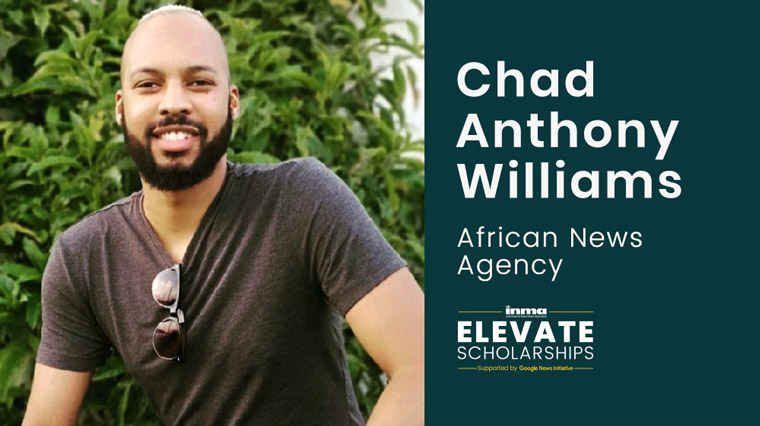 Chad Anthony Williams is dedicated to helping other young journalists find their place in the industry.