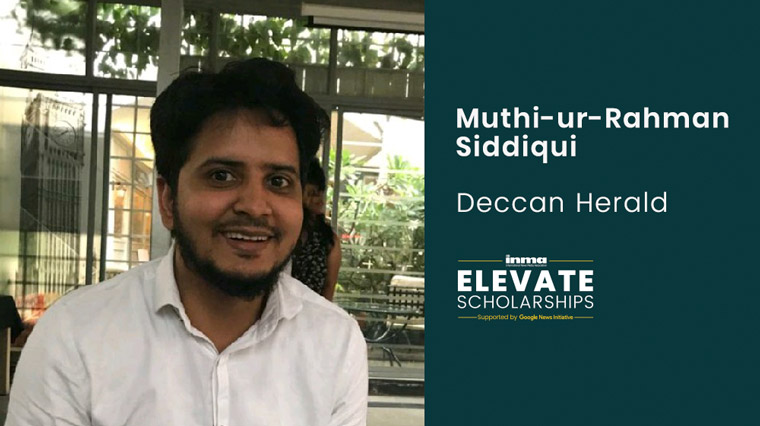 Muthi-ur-Rahman Siddiqui is determined to challenge bias and cultural ignorance in the media.