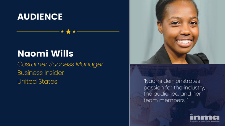 Naomi Wills is customer success manager at Business Insider in the United States.