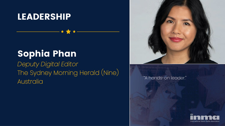Sophia Phan is deputy digital editor at The Sydney Morning Herald (Nine) in Australia.