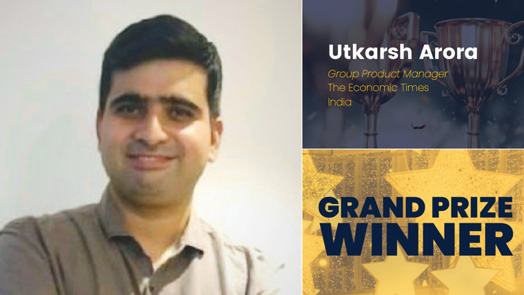Utkarsh Arora is group product manager at The Economic Times in India.