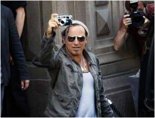 Bruce Springsteen in Sweden's Expressen