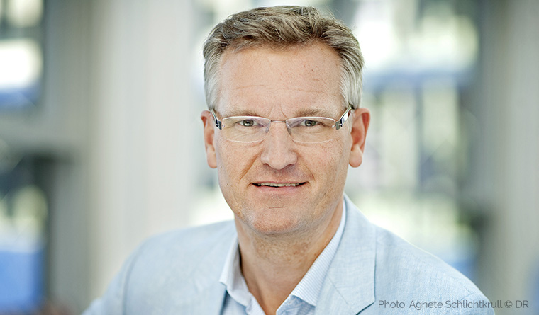 Ulrik Haagerup, executive director of news at the Danish Broadcasting Corporation, says the media's focus on negative news turns off its potential audience.