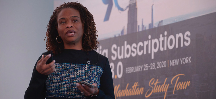 Miki Toliver King, chief marketing officer at The Washington Post, explained to INMA delegates how the company looks at digital subscription growth.