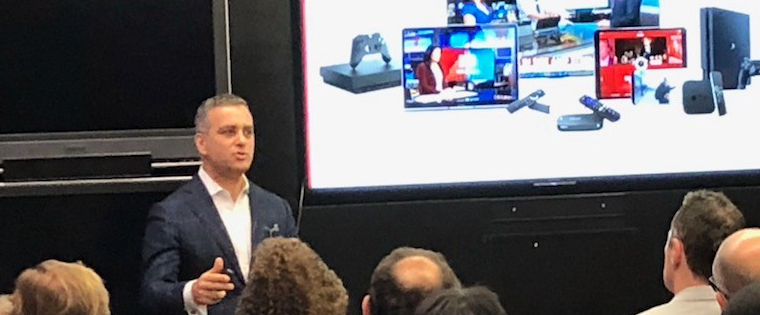 Adam Wiener, executive vice president and general manager for CBSN's local digital media, explains how many devices its product can be viewed on.