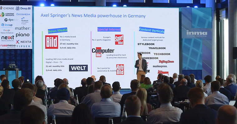 Stefan Betzold, digital news media managing director at Axel Springer, kicks off day one of INMA's Media Innovation Week.