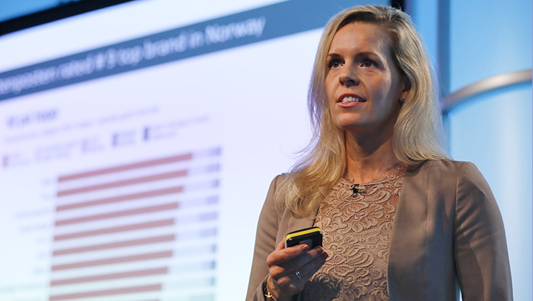 Siri Holstad Johannessen, head of sales and marketing at Schibsted, described how the company developed a data visualisation tool utilised across departments to keep every team aligned.