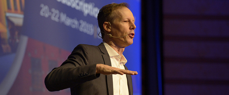 Jim McKelvey, director and co-founder of Square, has a new initiative: Invisibly. The company's goal is to replace the entire advertising ecosystem to give consumers control over it.