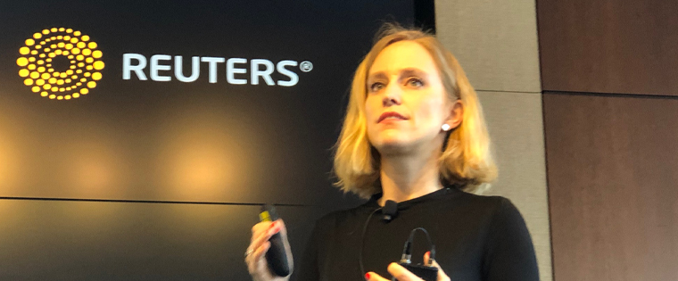 "Nina Ranke of Ringier Axel Springer discussed how the company is merging its different digital brands into one business platform to become a ""one-stop shop"" for business news in Switzerland."