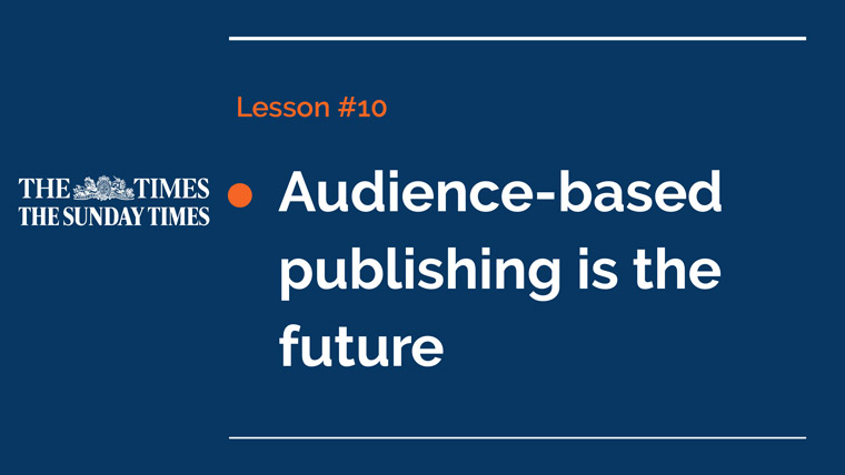 Publishers must focus on their readers first and commit to audience-focused publishing, says Alan Hunter.