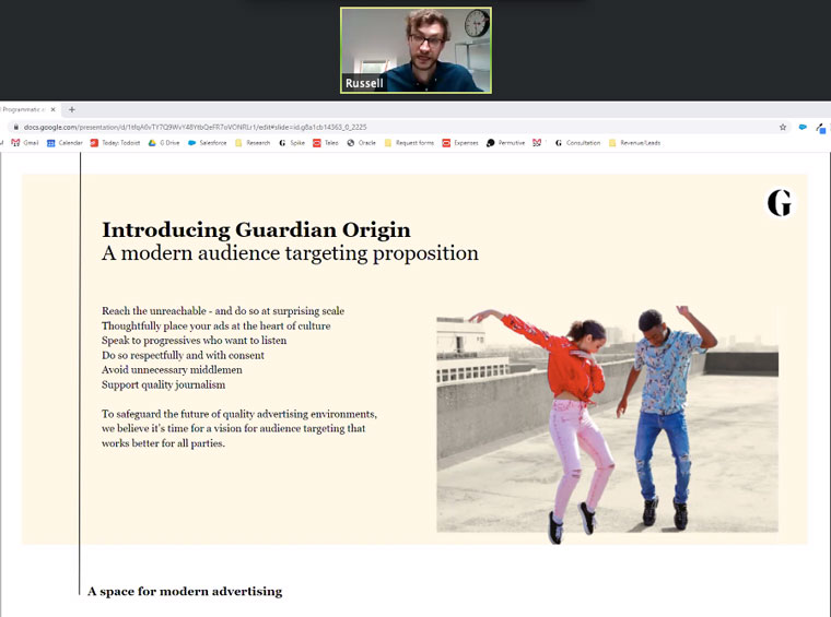 The Guardian has introduced a new advertising platform called Guardian Origin, which could be the advertising model of the future for news brands.