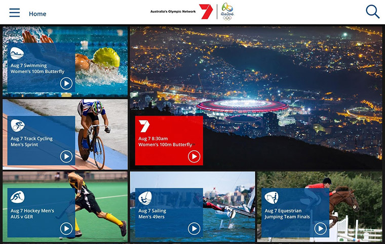 Olympic coverage includes short- and long-form written and video content.