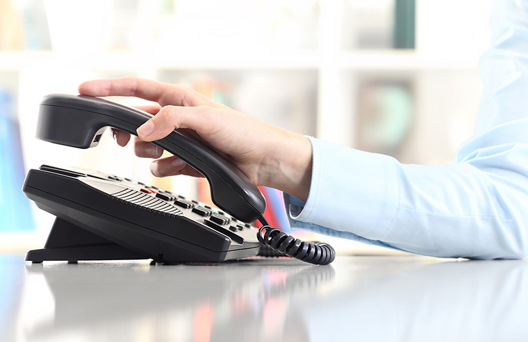 Answering phone calls promptly and helpfully shows a commitment to customer service.
