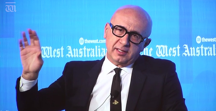 Gucci CEO Marco Bizzarri offered media professionals a new perspective on a timeless brand.