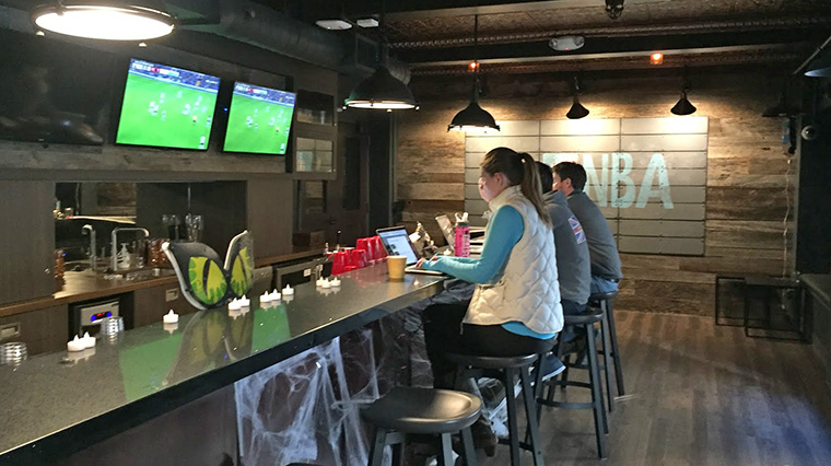 In some workplaces, like Bleacher Report, beer taps and sports are the norm.