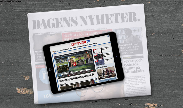 Quality newspaper Dagens Nyheter is a money maker more than an audience engagement brand for Bonnier.