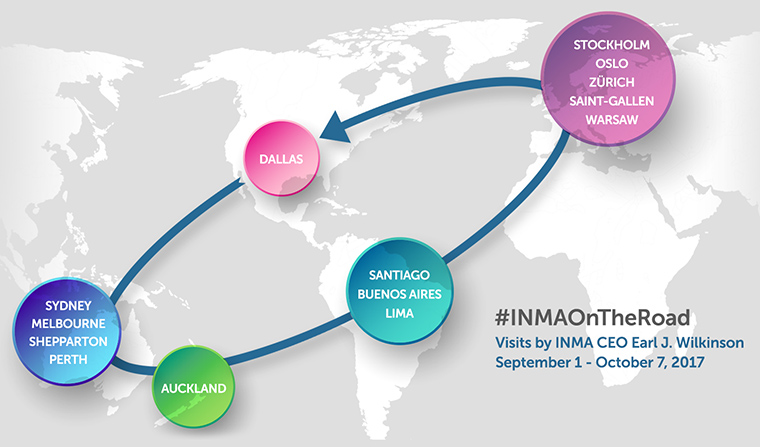 INMA Executive Director/CEO Earl J. Wilkinson hits the road for 37 days of intense industry immersion.