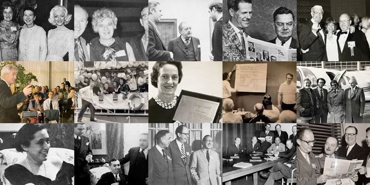 "INMA members from the 1930s to the 1980s celebrated conferences, the shift from promotion to marketing, and the ""total newspaper"" concept. It also was a male-dominated era that began to change in the 1980s."