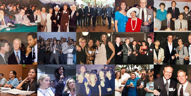 INMA members from the 1990s to today have embraced INMA's global role with gusto and come together via conferences, study tours, and now virtual meetings. You also can see the growing diversity in gender, race, and geography.