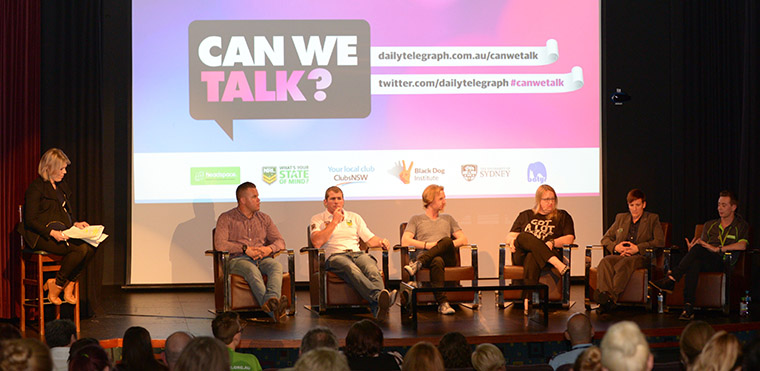 Panel discusses youth mental health issues at Sunday Telegraph's Can We Talk forum