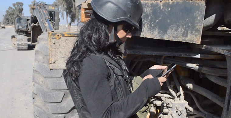 Magda Gad uncovers the tragic and real-time stories in war-torn Iraq, as they happen.
