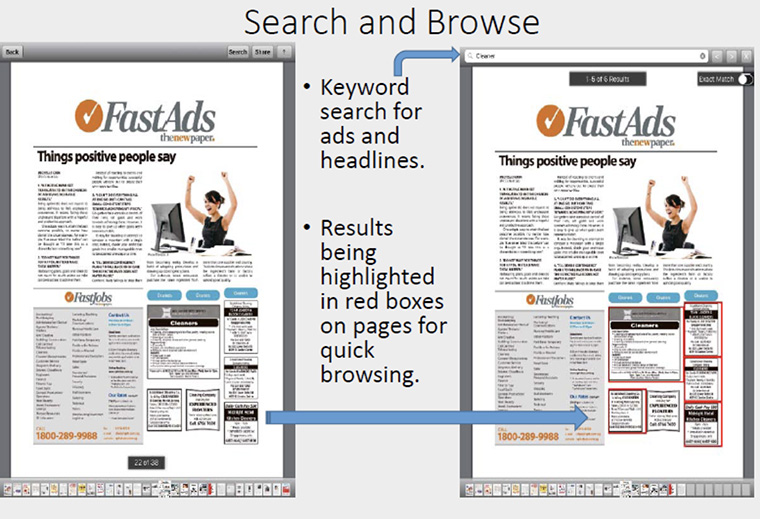 Readers get flexibility and the ability to customise search results with The New Paper app.