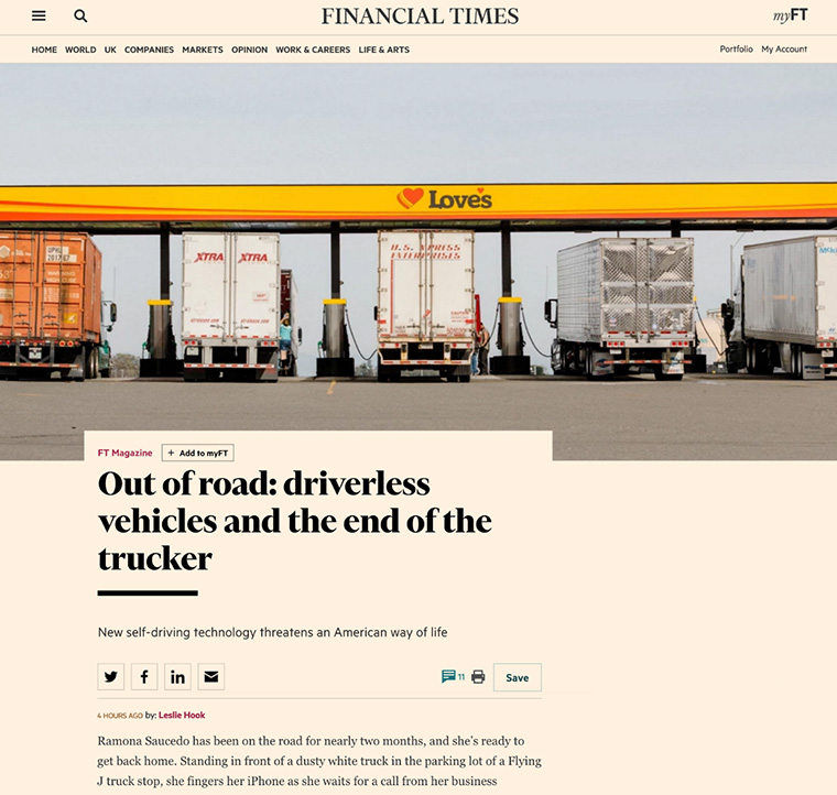 The new Web site lets Financial Times users follow niche areas of interest.