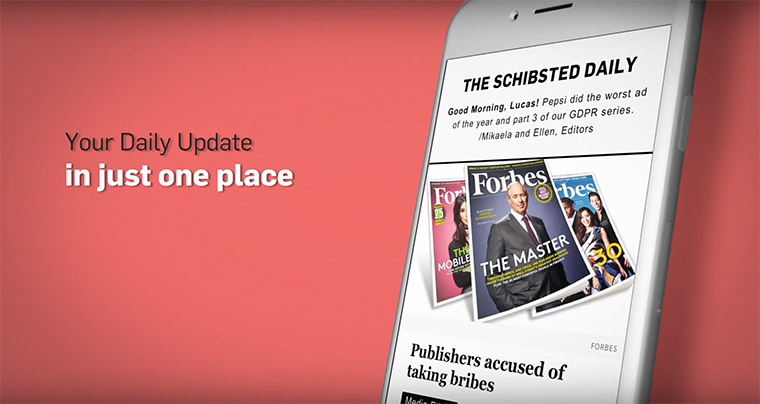 inma in house newsletter keeps schibsted employees informed