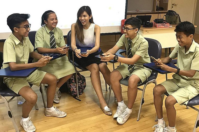 To stay in step with a teaching trend toward integration of current events into lessons, The Straits Times built an app for students and a portal for teachers.