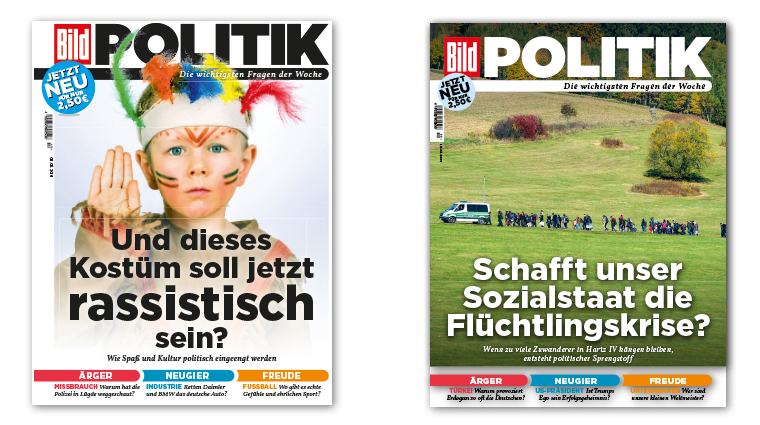 BILD POLITIK offers a fresh approach to political content with a non-traditional format: compact, bright, accessible, and divided into three sections based on emotions rather than topics.