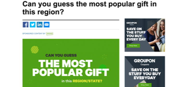 Pictured above is just one in a series of interactive infographics that ran on ChicagoTribune.com for Groupon.