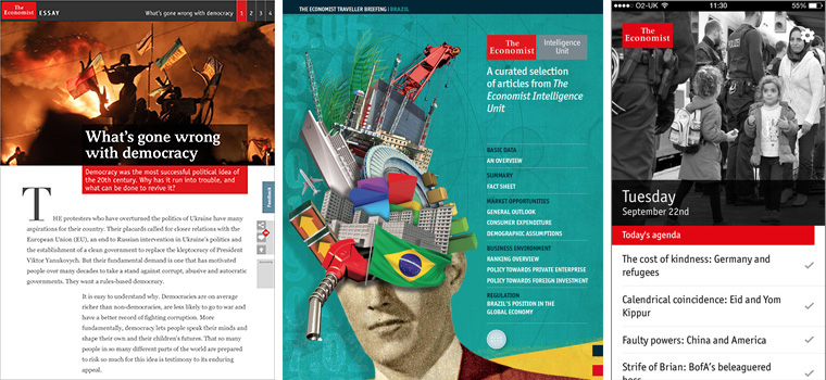 Several new products came out of The Economist's move to more closely connect the editorial team to innovation.