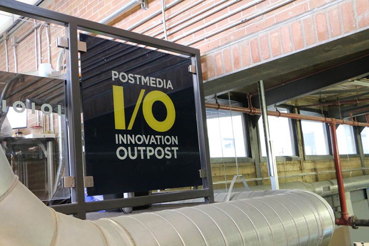 The Postmedia IO lab is strategically located in the Communitech Hub in Waterloo, Canada, a gathering place for tech innovators of all sizes.