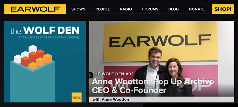 Earwolf is one of Midroll's podcast networks.