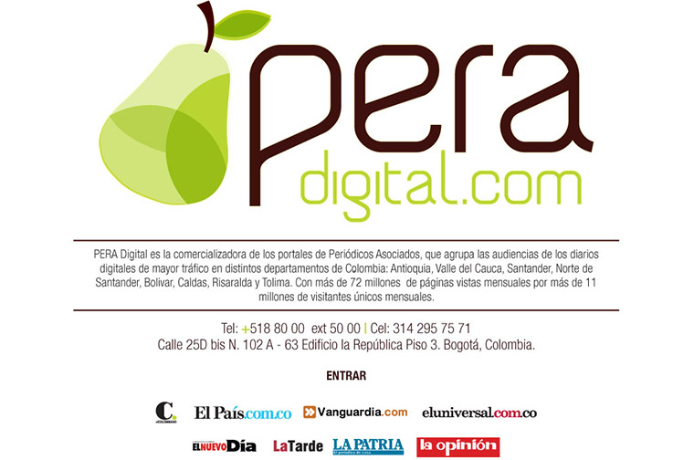 Pera Digital is a partnership of regional news media companies, led by El Colombiano.