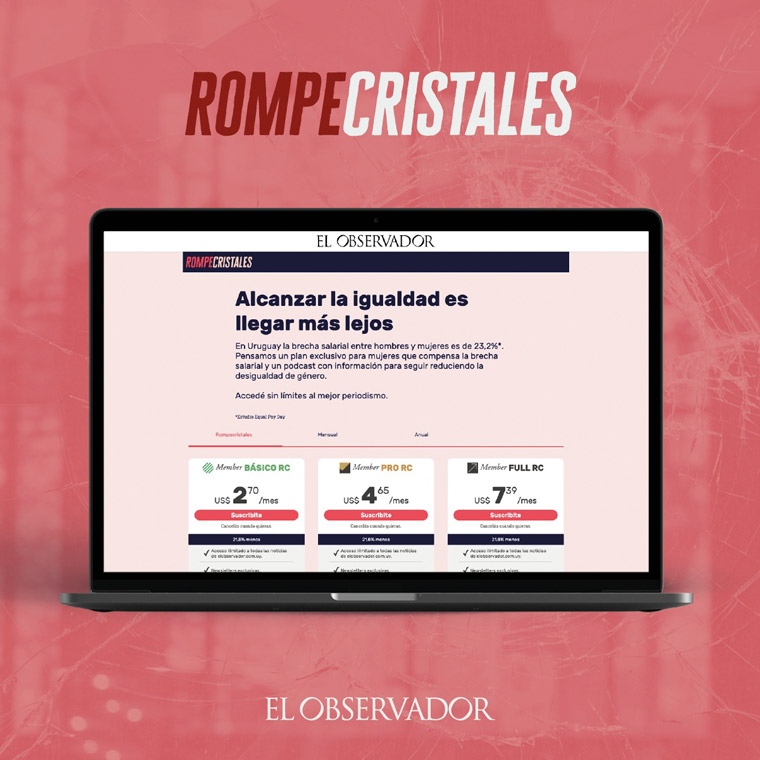 RompeCristales is both a podcast series and a special subscription plan.