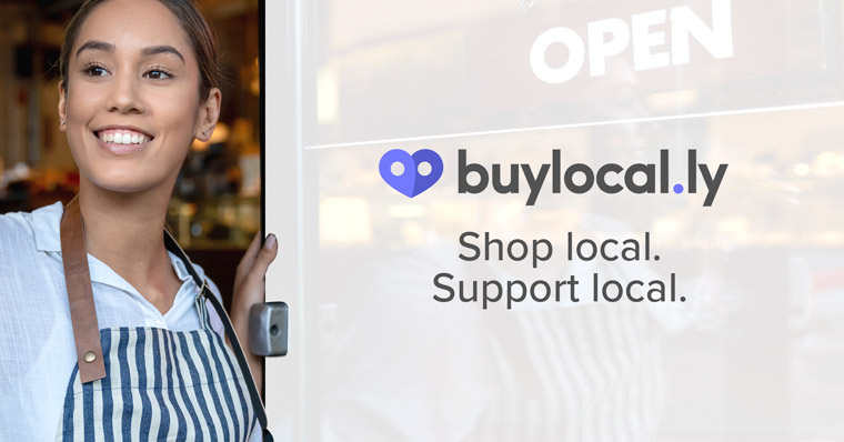 The Buylocal.ly campaign helps promote businesses still offering their services in Winnipeg.