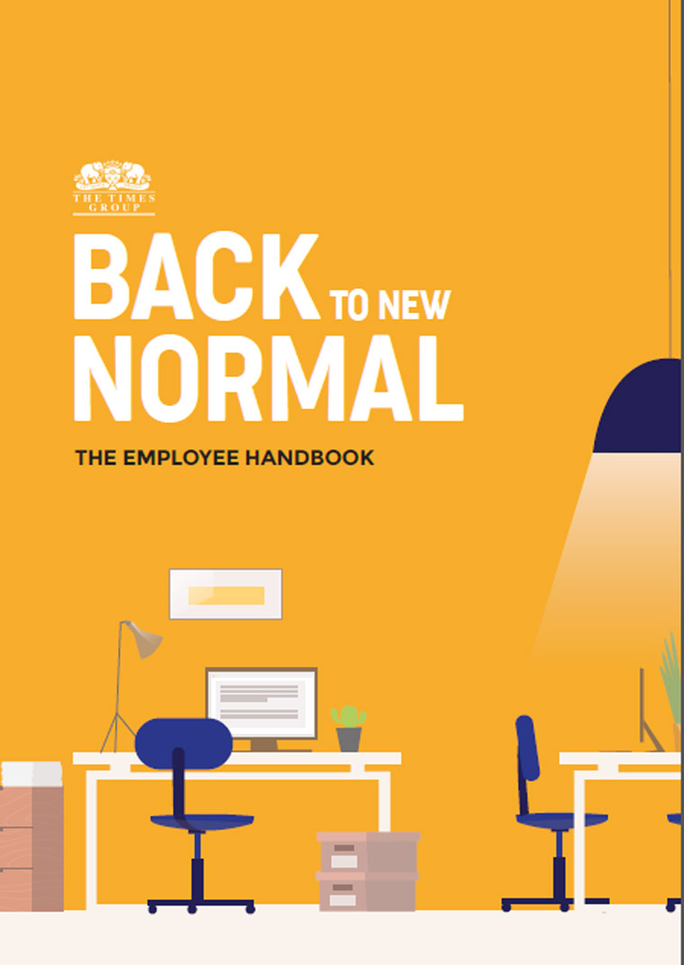 The Times Group created a new employee handbook to provide employees with guidelines on navigating a new normal.