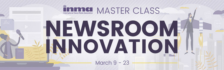 The upcoming Master Class will feature three sessions on Tuesdays throughout March, starting March 9.