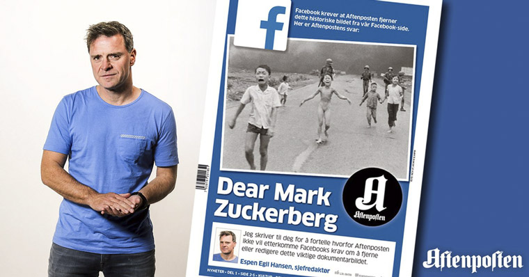 Espen Egil Hansen, who will lead the Newsroom Innovation Master Class for INMA, made international headlines when he wrote a letter to Mark Zuckerberg in 2016 about Facebook censorship.