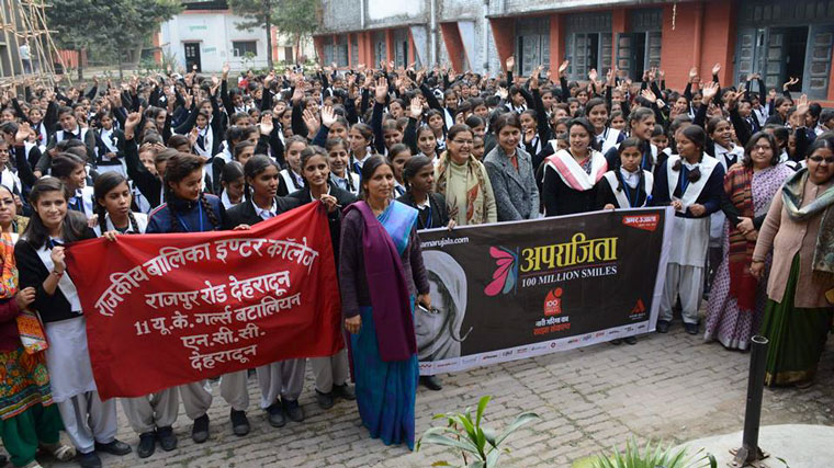 The campaign has attracted immense participation from women of all ages.