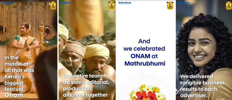 Mathrubhumi Group created an innovative approach to promote the year's biggest celebration, despite COVID-19.