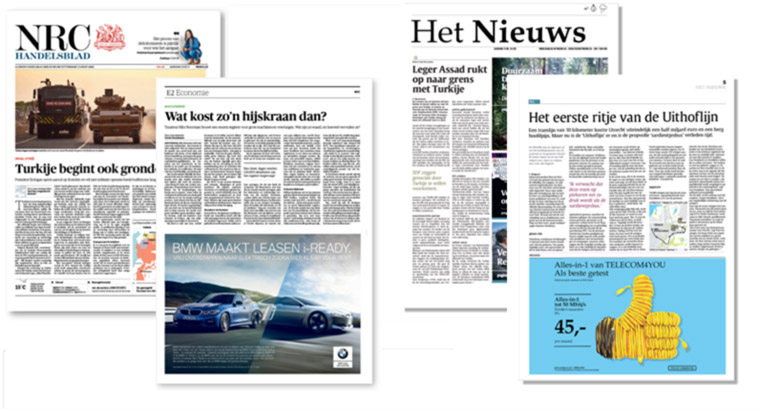 The research for these findings included an experiment using NRC Handelsblad and the fictional news brand Het Nieuws.