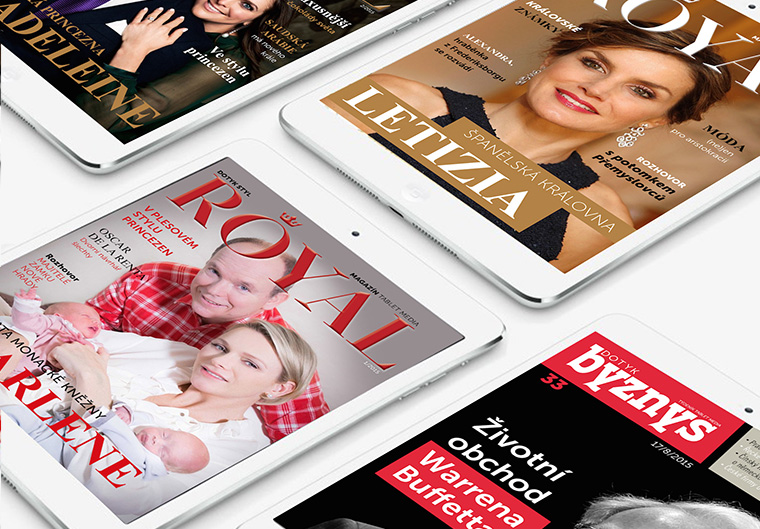 Tablet Media produces four magazines, all free, all only produced for the tablet platform.