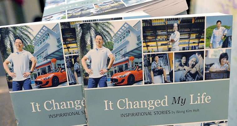 "Straits Times ""It Changed My Life"" series featured interviews with almost 200 local men and women."